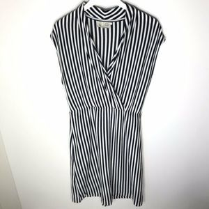 Saturday Sunday Cabana Chemise Striped Wrap Dress